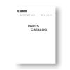 Canon BG-E2 Parts Catalog PDF Download