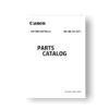 Canon BG-E5 Parts Catalog Download