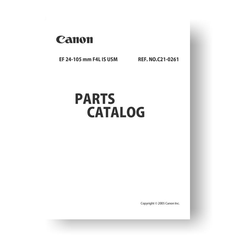 canon ef 24 105 4 0 l is usm parts list download uscamera parts rh uscamera com canon ipf765 parts manual canon ipf765 parts manual