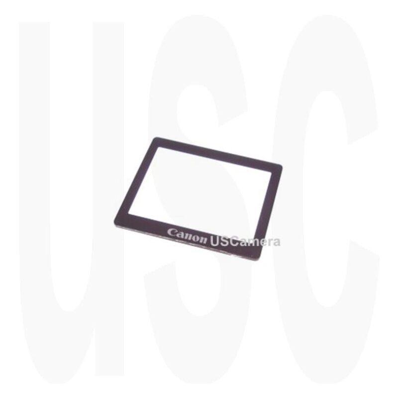 Canon EOS Rebel XTi Back Cover TFT LCD Window CB3-3149