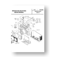 Rollei 35 Repair Manual Parts List | 35mm Film Cameras