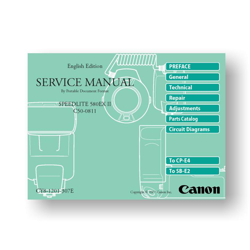 canon speedlite 580ex ii service manual parts list download rh uscamera com canon 580ex ii service manual Canon EOS 60D Flash