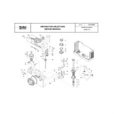 Rollei B 35 Service Manual Parts List PDF Download (ROLLEIB35-SM)