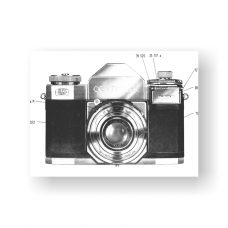 44-page PDF 2.00 MB download for the Zeiss-Contaflex II Service Manual | Vintage SLR