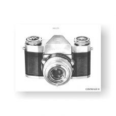 40-page PDF 4.86 MB download for the Zeiss-Contaflex III Service Manual Part Lists | Vintage SLR