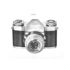 Zeiss Contaflex III / IV Service Manual PDF Download (ZEISSDCF34-SM)