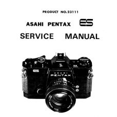 Pentax ES Service Manual | Pentax Film Cameras