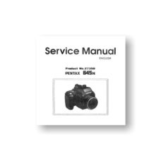 Pentax 645n Service Parts Download