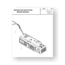 12-page PDF 1.03 MB download for the Rollei 16-16S Repair Manual Parts List | 16mm Film Cameras
