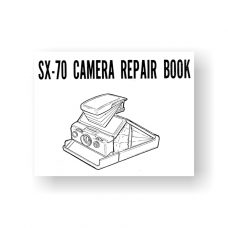 94-page PDF 6.66 MB download for the Polaroid SX70 Service Manual Parts List | Instant Film Camera