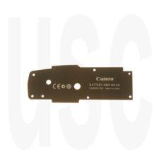 Canon CB3-5067 Cover Plate | BG-E6