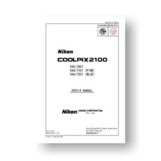 Nikon Coolpix 2100 Service Manual Parts List Download