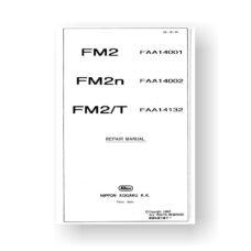 171-page PDF 6.10 MB download for the Nikon FM2 Repair Manual Parts List | Film Cameras