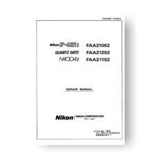Nikon 4004S Repair Manual