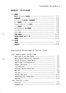 Nikon N6000 Service Manual Parts List Download (N6000-SMPL)