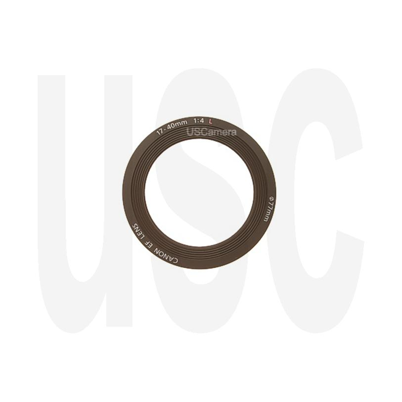 Genuine Canon Front Name Ring for Canon EF 17-40mm f//4.0 L USM Lens YB2-0379-000