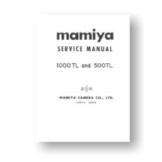 Mamiya RB67 Service Manual Parts List | Complete Download