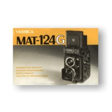 Yashica MAT-124G Owners Manual Download