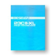 Beseler 23CII-XL Enlarger Owners Manual Download