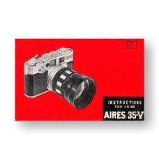 Aires 35-V Owner's Manual | 35mm Rangefinder