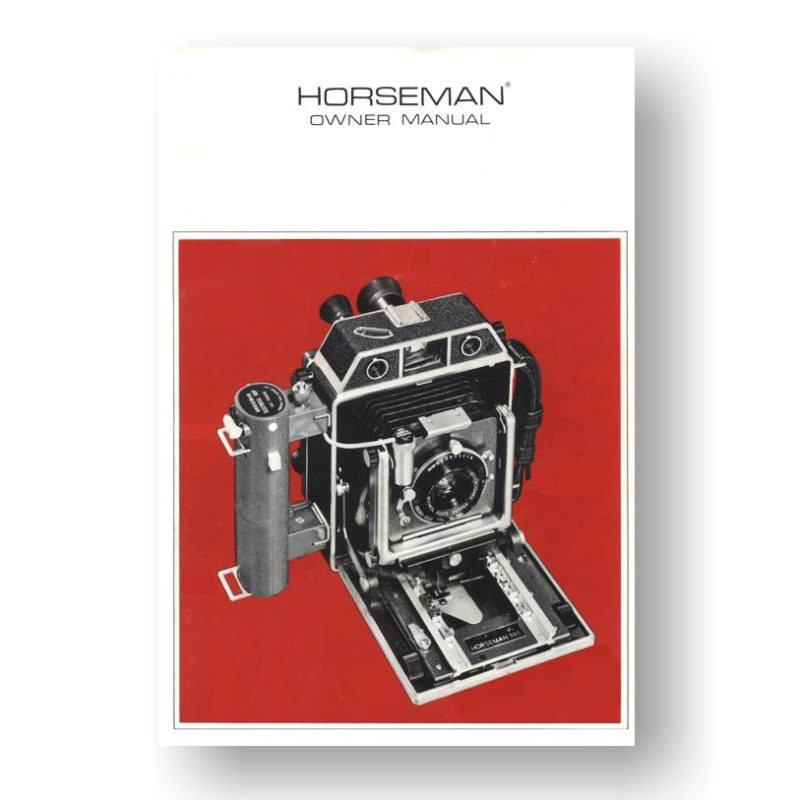 Horseman 985 Owners Manual Download