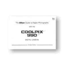 Nikon Coolpix 990 Owners Manual Download