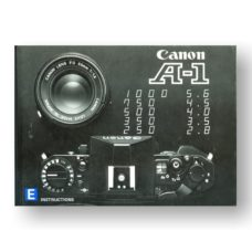 Canon A1 Owners Manual Download