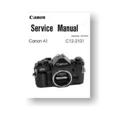 Canon A1 Service Manual | Parts List Download