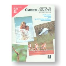 Canon AE-1 Part 1 Part 2 Owners Manual Download