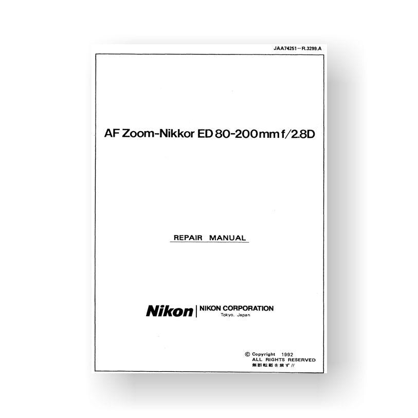 Nikon JAA74251 Repair Manual