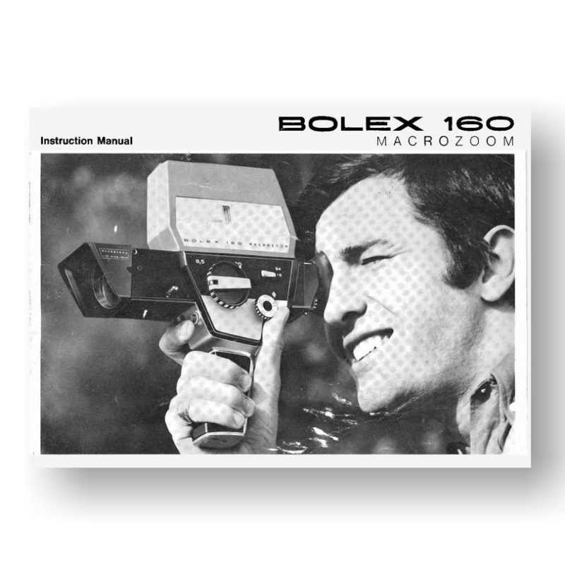 BOLEX 160 Macro-Zoom User Manual