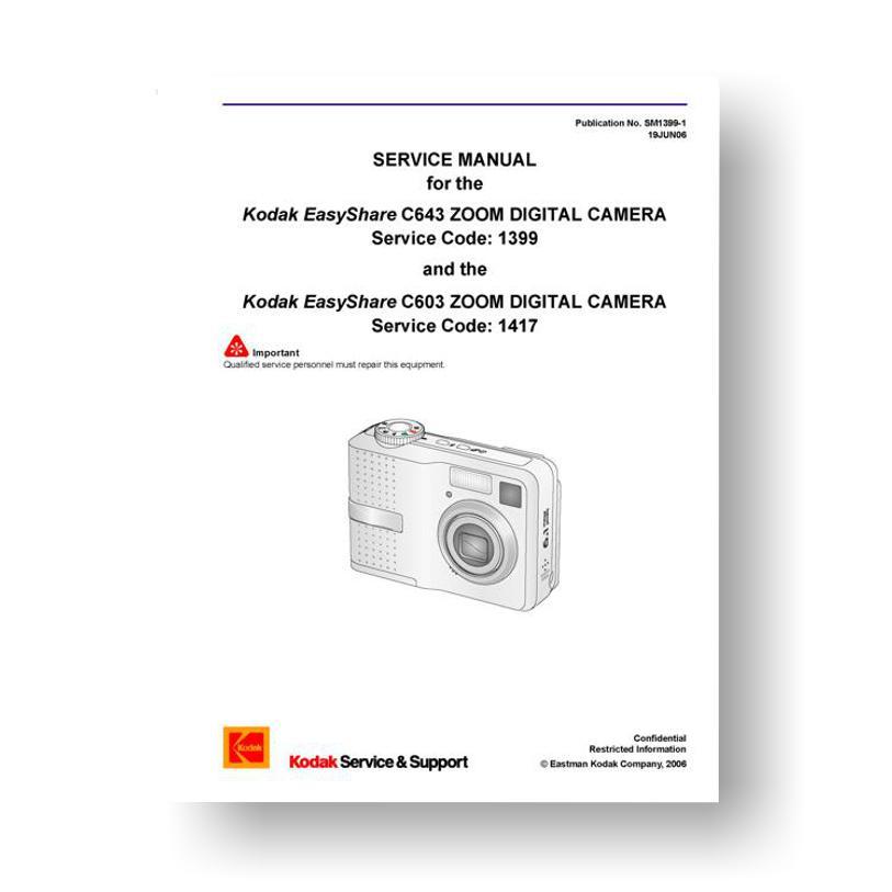 kodak easyshare c603 c643 service manual parts list downloaduscamera rh uscamera com Sony Digital Camera Manual digital camera service manual pdf