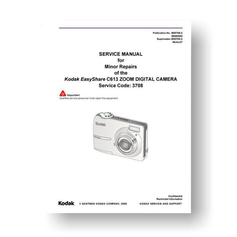 Kodak C613 Service Manual