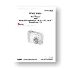 Kodak C875 Service Manual | Easyshare C875