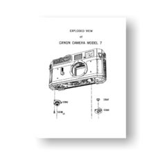 25-page PDF 773 KB download for the Canon 7 Service Manual Download | Canon 7 Film Camera