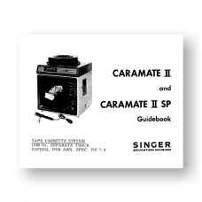 Singer Caramate II Caramate II SP Owners Manual