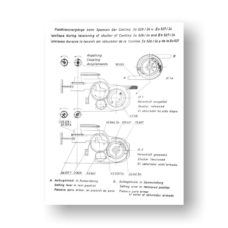71-page PDF 7 MB download for the Zeiss-Contina Ia-IIa Service Manual | Vintage 35mm SLR