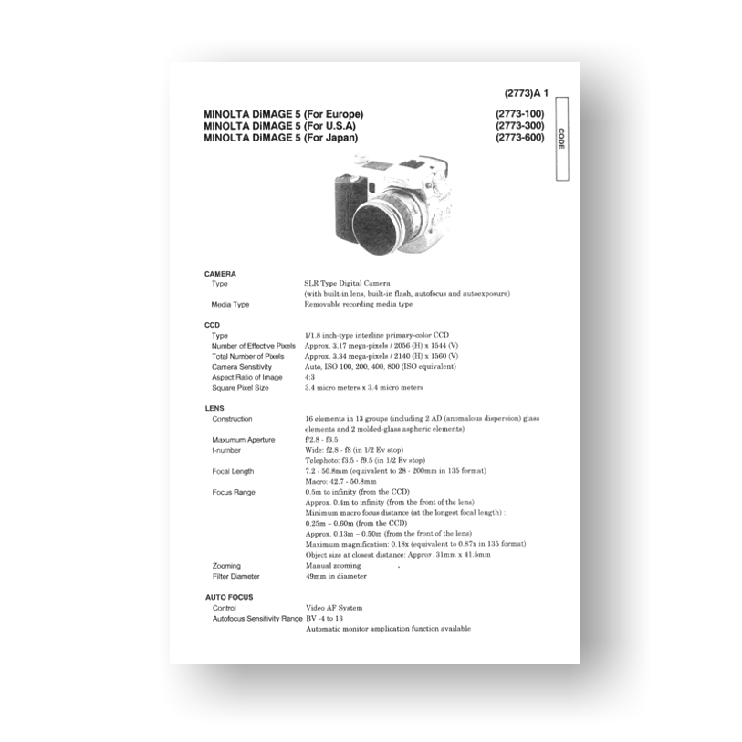 Bv 300 service manual array minolta dimage 5 service manual parts list download uscamera parts rh uscamera com fandeluxe Image collections