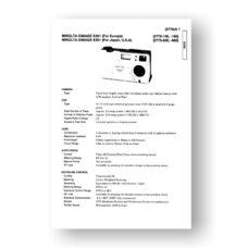 Minolta 2775 Service Manual Parts List | Dimage E201