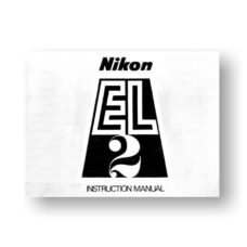 Nikon EL 2 Owners Manual Download