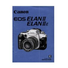 Canon EOS Elan II Elan IIE Owners Manual Download (