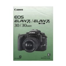 Canon EOS Elan 7 Elan 7E Owners Manual Download