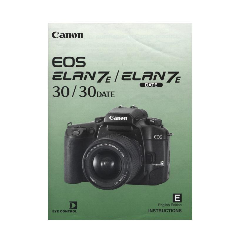 canon eos elan 7 elan 7e owners manual download uscamera parts rh uscamera com Canon Digital Camera Manual Settings Canon PowerShot Digital Camera