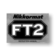 Nikon Nikkormat FT2 Owners Manual Download