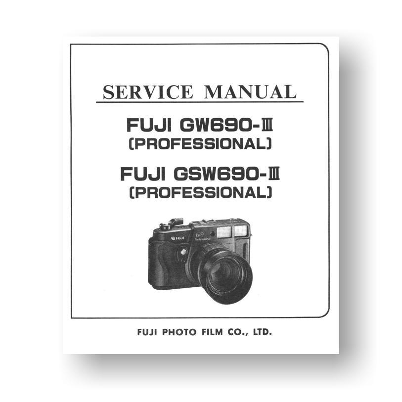 Fuji Gsw 690 iii manual