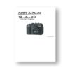24-page PDF 1.83 MB download for the Canon G11 Parts Catalog | Powershot Digital