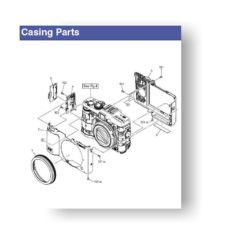 7-page PDF 710 KB download for the Canon G16 Parts Catalog | Powershot Digital