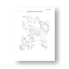 24-page PDF 616 KB download for the Canon G5 Parts Catalog | Powershot