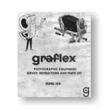 Graflex Graphic View Service Manual Owners Manual Download