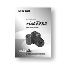 Pentax *ist DS2 Owners Manual Download